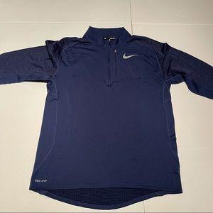 Nike Running sweatshirt for Men's Blue navy size L